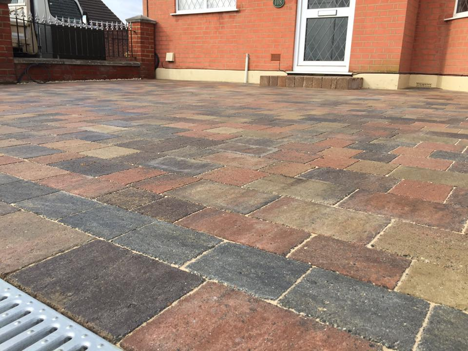 Marshalls Tegula In Traditional Colour Block Paving In